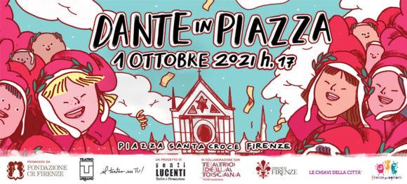 Dante in Piazza! - Grafica Ginevra Boni